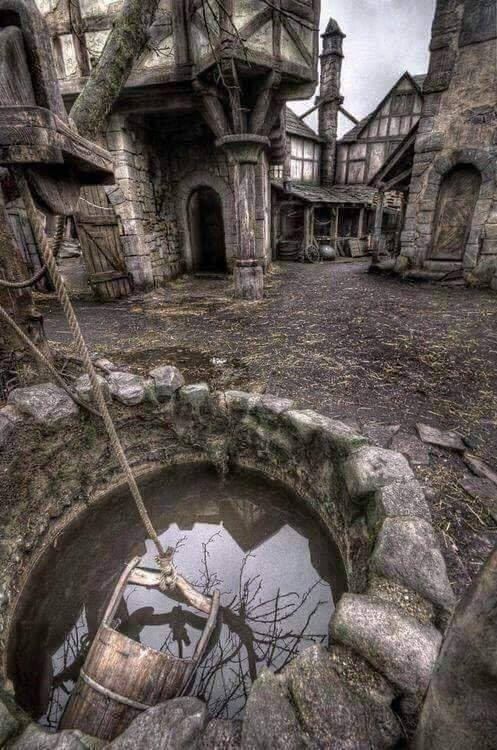 Abandoned village in Scotland! :o