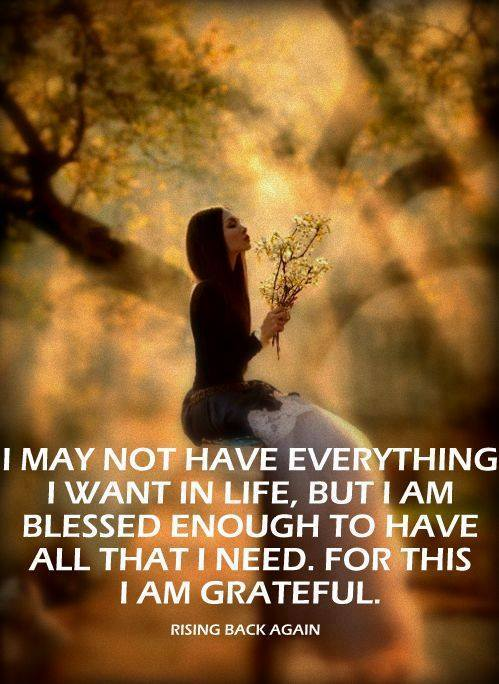 I am Grateful <3