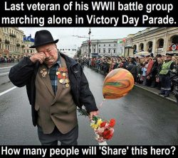 So much respect, what a great generation of heroes…  Had to share!