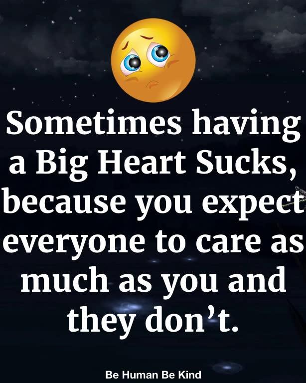 Sometimes it sucks..