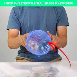 Stretch & Seal Lids!