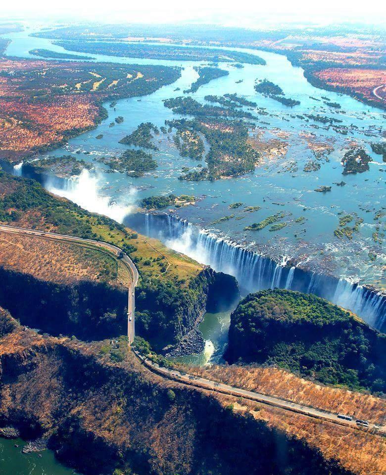 Victoria Falls, Zambia. :o