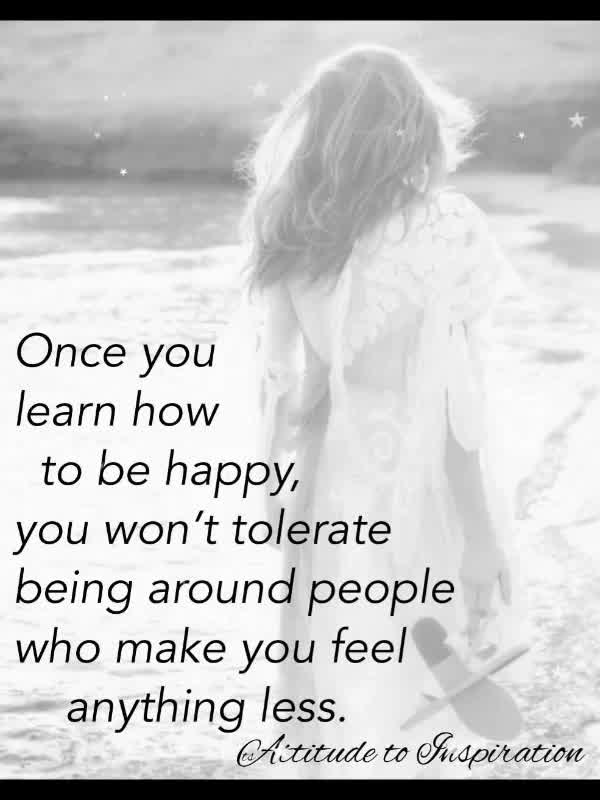 <3 Once you learn how to be happy …