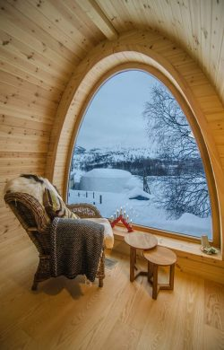 A cozy place with a Winter Wonderland view!!