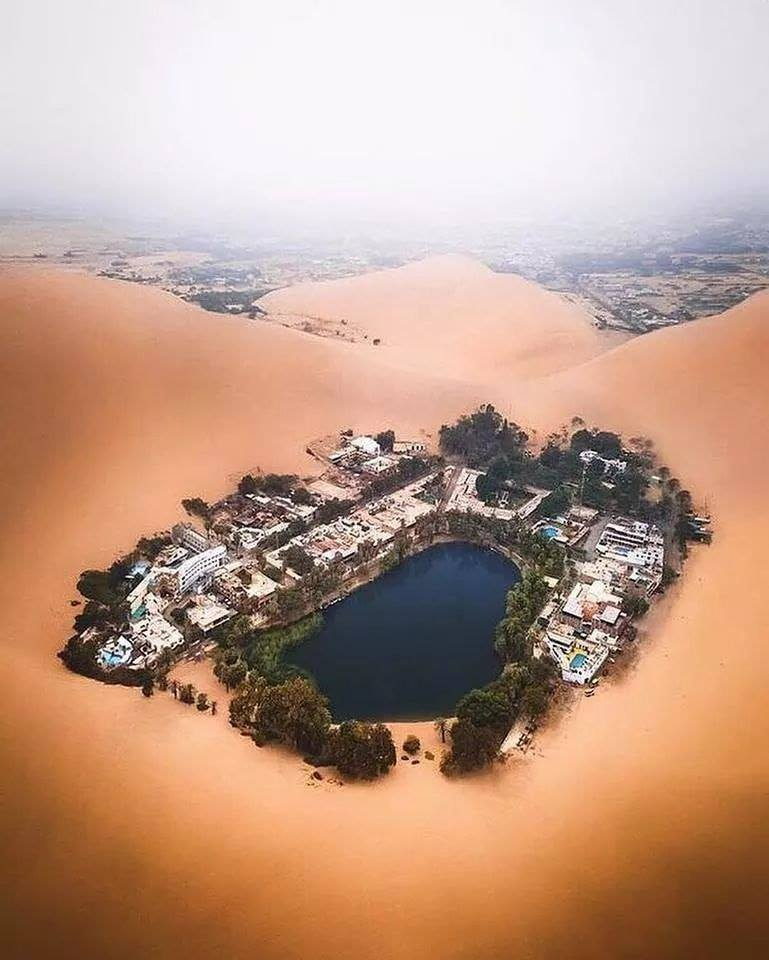 An Oasis in the Desert of Peru :o