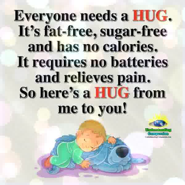 Everyone Needs A Hug ❤️