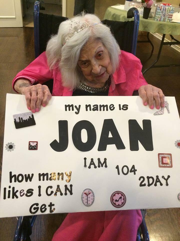 """Let's all wish Joan a Happy Birthday!  You have my """"Like"""" and """"ShareR ..."""
