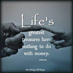 Life's Greatest Treasures