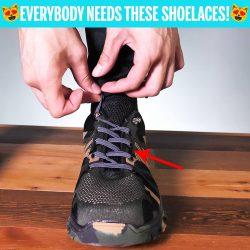 No-Tie Shoelaces!
