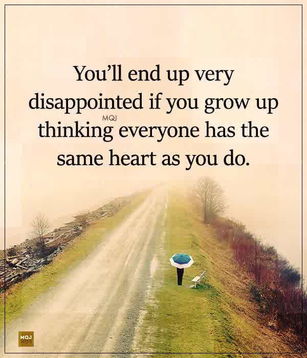 Not everyone has the same heart