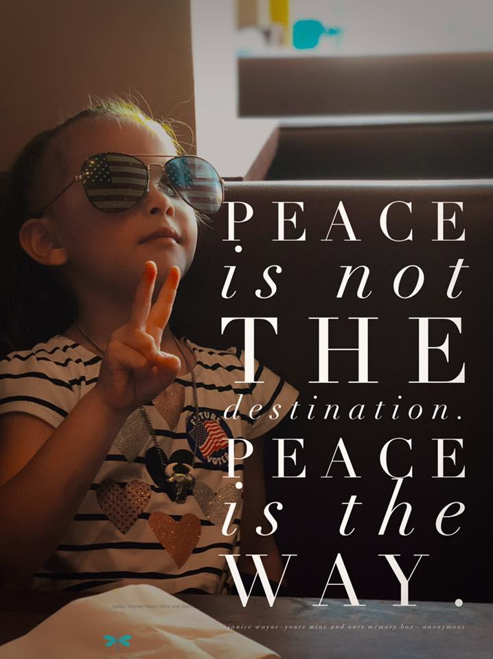 Peace all the way!