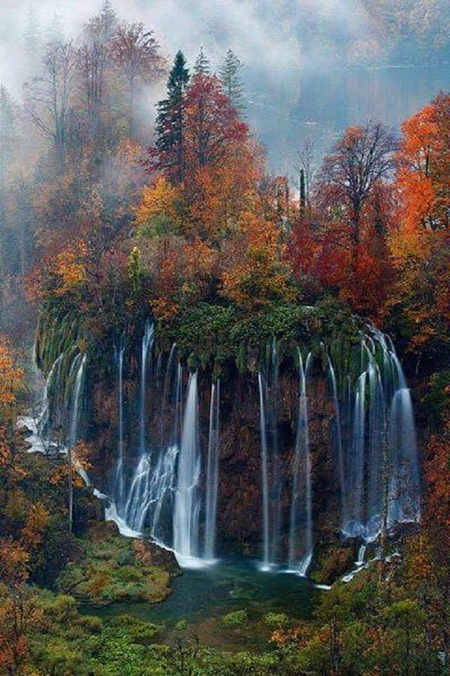 Plitvice National Park, Croatia.  One word for this photo? :)