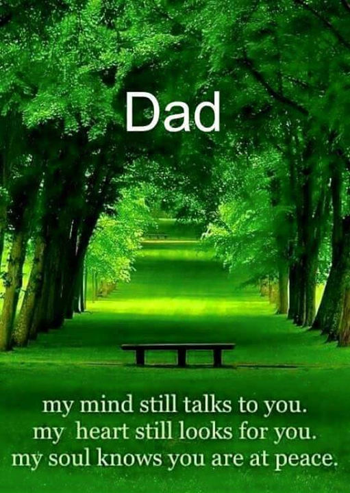 Say something about your Dad :)