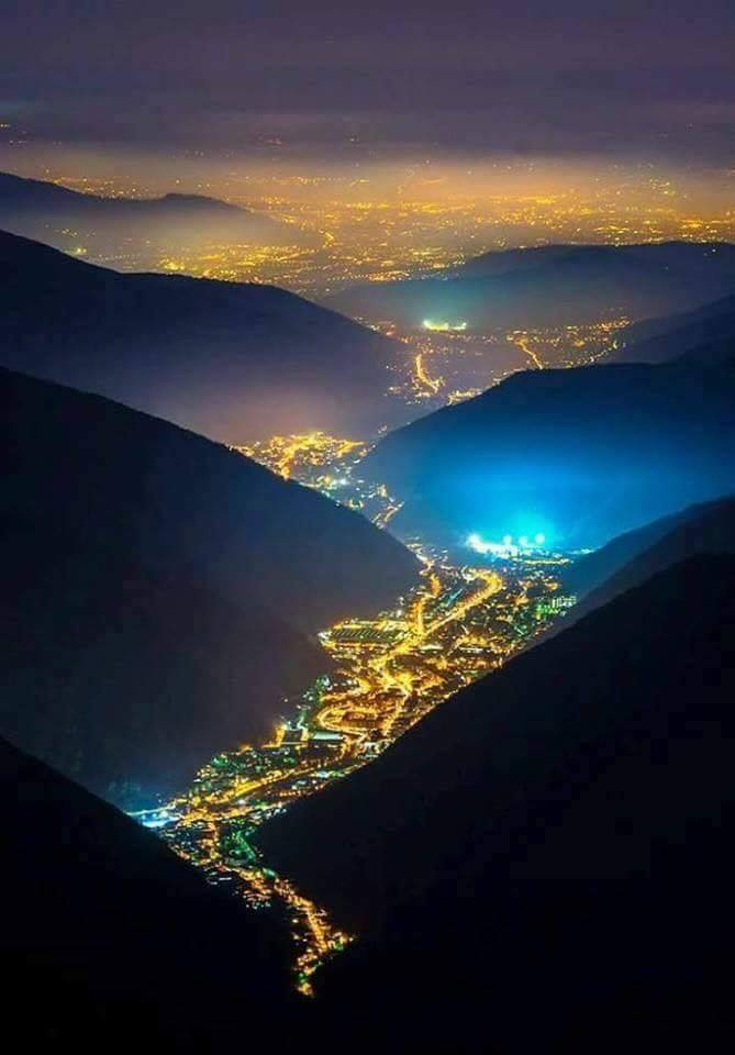 Valley of lights, Italy! <3