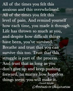 <3 Don't give up and keep pushing …