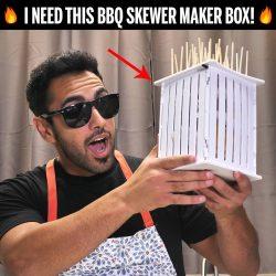 BBQ Skewer Maker Box