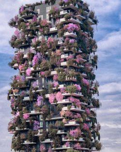 Bosco Verticale Milan,Italy.
