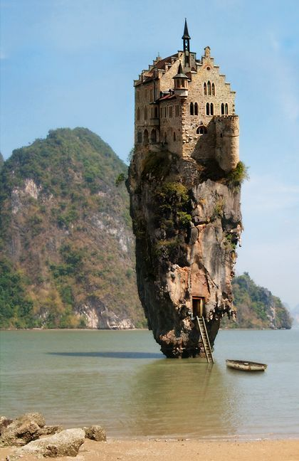 Castle on the rock..