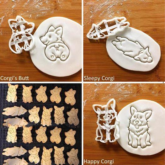 Corgi Shape Cookie Cutter Set Corgi Shape Cookie Cutter Set >>   .