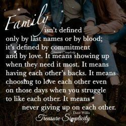 Family …