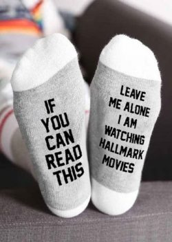 LOVE these Hallmark Movies Socks!  Get yours here    Currently 50% OFF with FREE Shipping!  Not sold in stores.  Get yours here