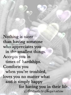 Nothing is nicer …