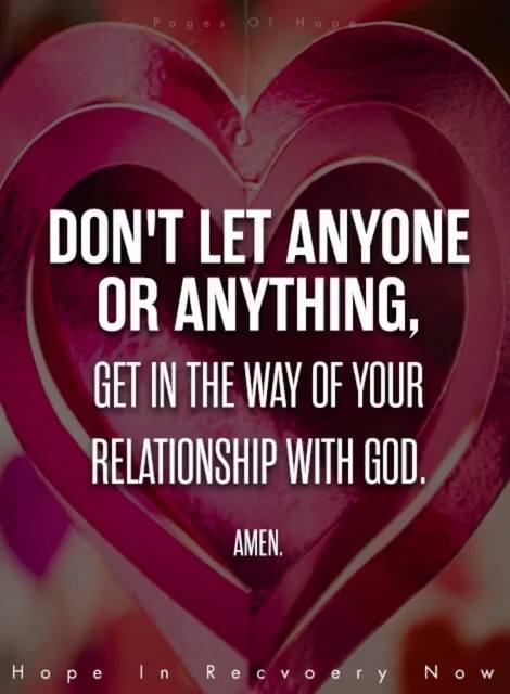 Relationship with God
