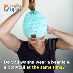 Soft Knit Ponytail Beanies! Click Here to Get Yours!