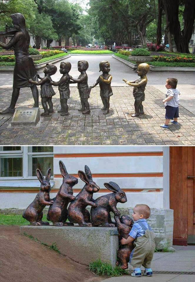 The awesome innocence of children!