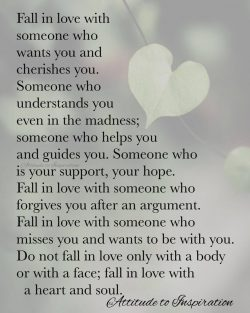 <3 Fall in love with a heart and soul …