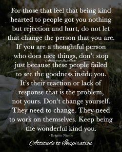 <3 Keep being the wonderful, kind you …