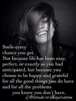 <3 Smile every chance you get …
